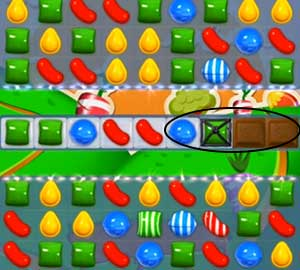 how to play candy crush level 77