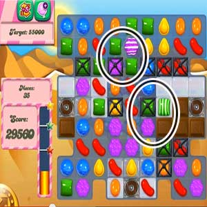 Candy crush level 161 cheats tips and strategy games tips for Candy crush fish