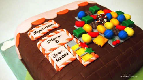 Candy Crush Cake 1