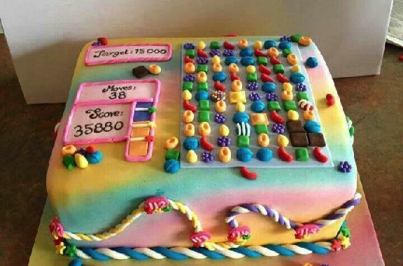 Candy Crush Cake 4