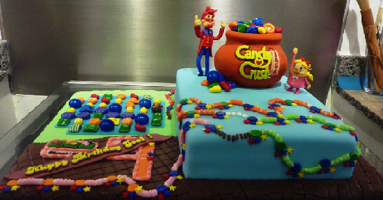 Candy Crush Anniversary Cakes Competition