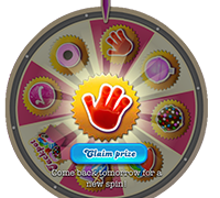 Candy Crush Booster Wheel