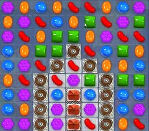 Candy Crush Saga Dreamworld Level 184
