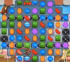 candy crush saga level 533