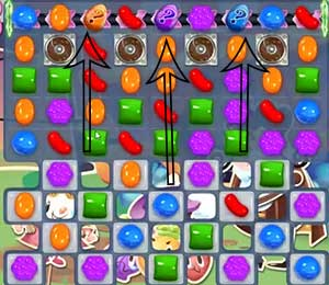 Candy Crush Saga Level 556