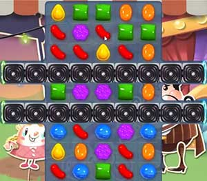 Candy Crush Saga Level 557