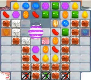 Candy Crush Saga Dreamworld Level 191