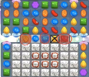candy crush saga dreamworld level 204