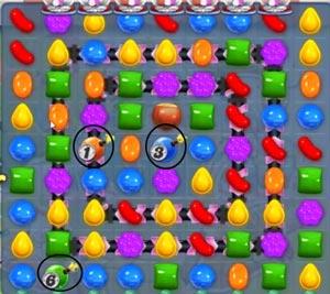 candy crush saga level 576