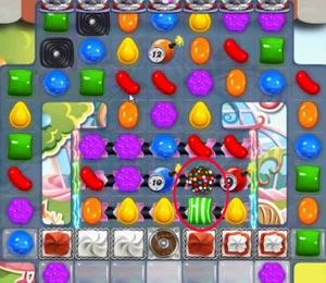 candy crush saga level 578