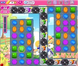 candy crush level 596